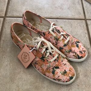 Rifle Paper Co x Keds Champion Meadow Shoes 8.5